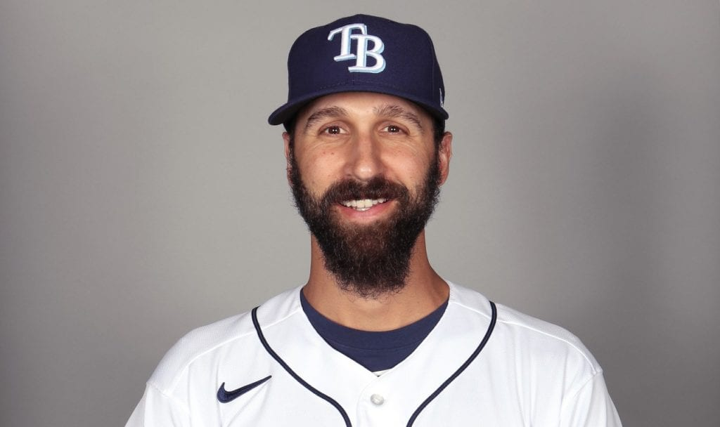 Rays pitcher Chaz Roe
