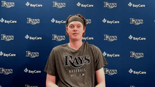 Rays pitcher Pete Fairbanks