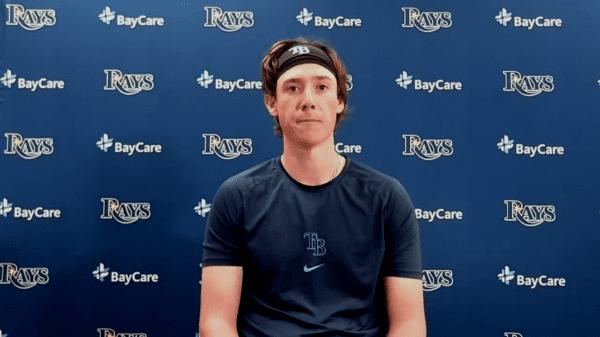 Rays pitcher Ryan Yarbrough