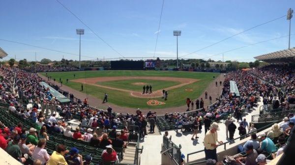 Ed Smith Stadium in Sarasota