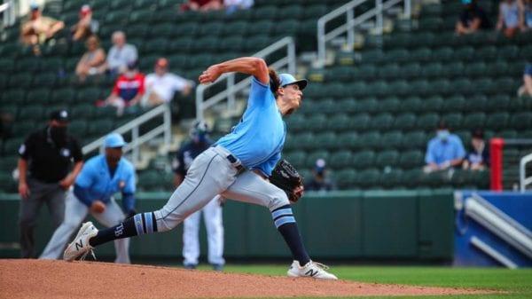 Rays pitcher Tyler Glasnow