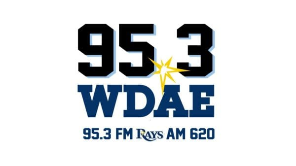 WDAE Logo with Rays markings