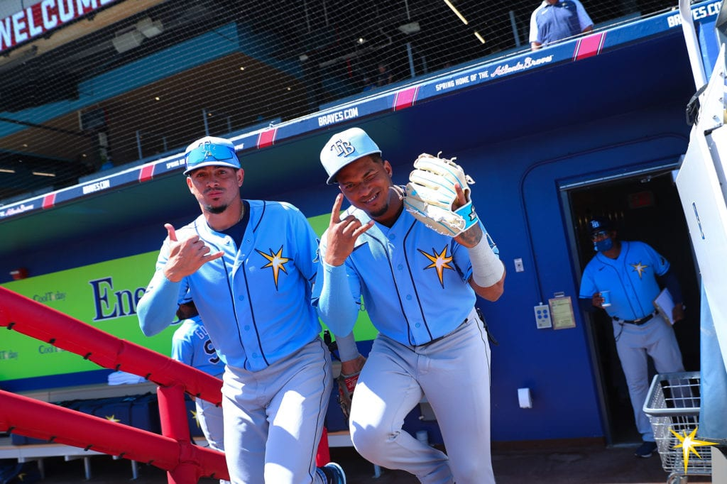 Willy Adames and Wander Franco