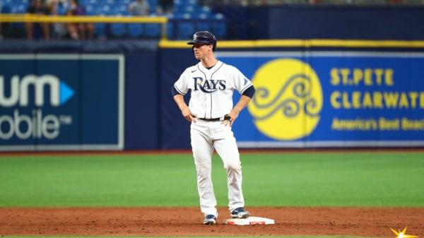 Rays infielder Joey Wendle
