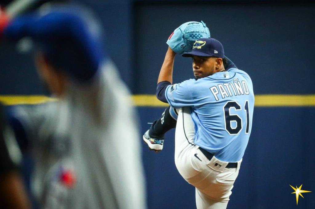 Rays pitcher Luis Patino