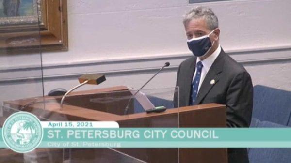 Stu Sternberg at St. Petersburg City Council